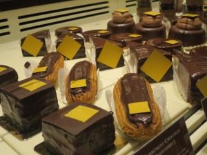 côté chocolat...